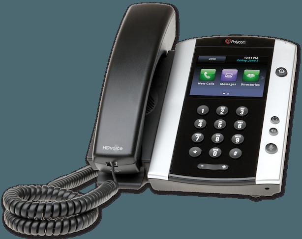 "alt=""Polycom VVX600 image from Clarity Voice"""