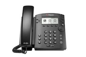 Polycom VVX 300 phone from Clarity Voice