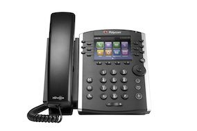 Polycom VVX-400 from Clarity Voice